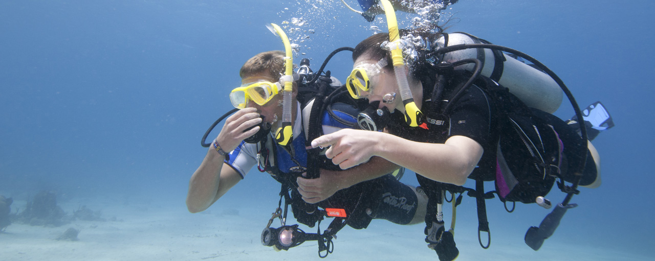 Try Scuba Diving and PADI Discover Scuba Diving